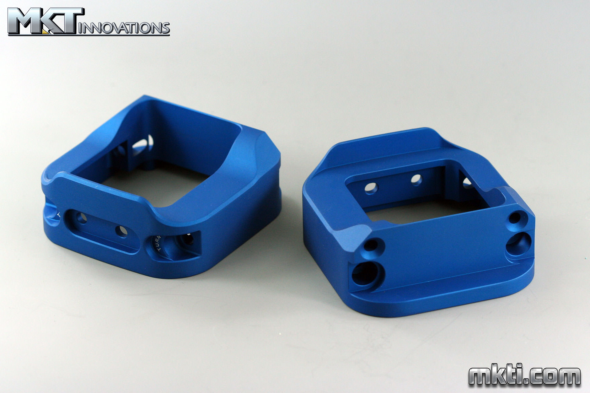 Blue Anodized Frame